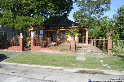 San Antonio Single Family Home New: 314 Roosevelt Ave