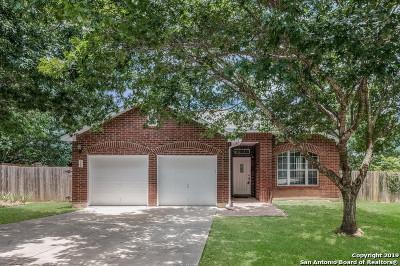San Antonio Single Family Home New: 12206 Stable Pass