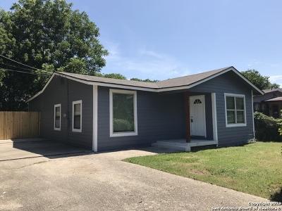 San Antonio Single Family Home New: 467 Ike St