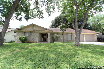 San Antonio Single Family Home New: 13015 Los Espanada St