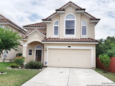 San Antonio Single Family Home Active Option: 1423 Pinnacle Falls