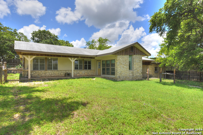 Boerne Single Family Home New: 09 Jennifer Dr