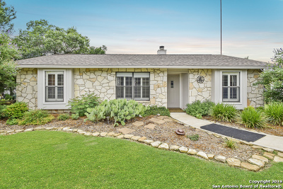 Boerne Single Family Home Active Option: 176 River Trail