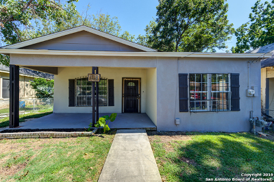 San Antonio Single Family Home New: 1118 Perez St