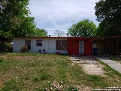 San Antonio Single Family Home Price Change: 110 Appleton Dr