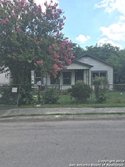 San Antonio Single Family Home New: 904 Eldorado St