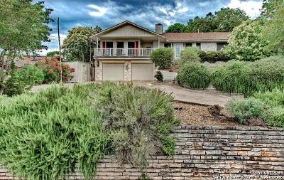 Kerrville Single Family Home Active Option: 2110 W Bluff Dr