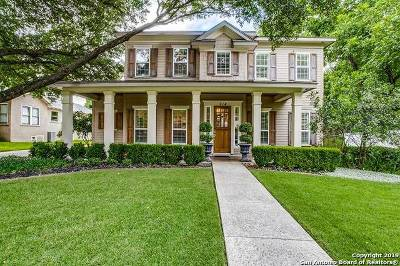 Alamo Heights Single Family Home For Sale: 514 Argo Ave