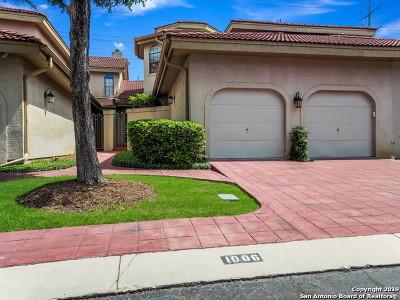 Stone Oak Single Family Home Price Change: 1006 La Tierra