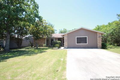 San Antonio Single Family Home New: 10615 Green Nook St