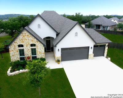 Boerne Single Family Home New: 27023 Anemone Bend
