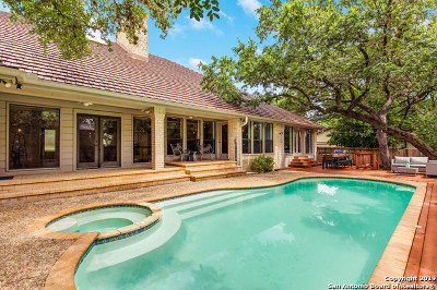 San Antonio Single Family Home Active Option: 13803 Bluffcircle