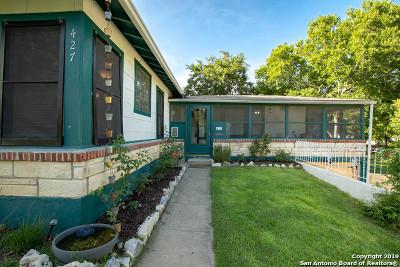 San Antonio Single Family Home New: 427 Quentin Dr