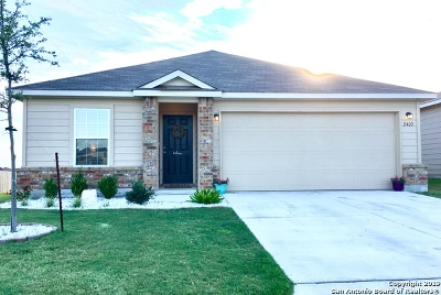 Converse Single Family Home New: 2403 Camberly View