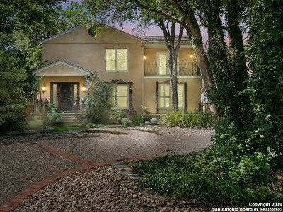 Alamo Heights Single Family Home For Sale: 207 W Castano Ave