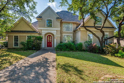 Stone Oak Single Family Home New: 1922 Cactus Bluff
