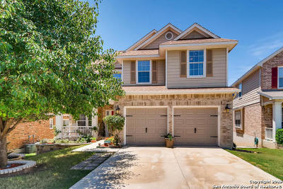 Stone Oak Single Family Home New: 815 Maltese Garden