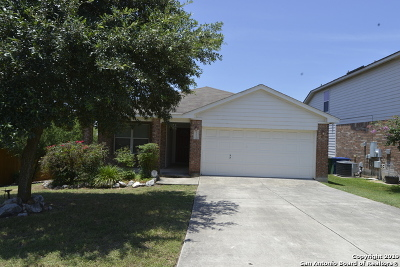 San Antonio Single Family Home New: 15503 Grey Fox Terrace