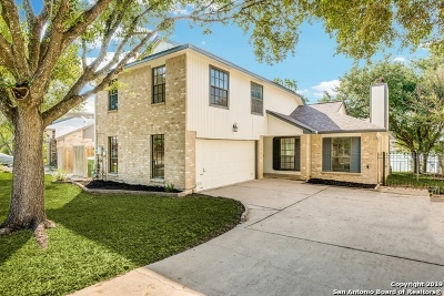 San Antonio Single Family Home Active Option: 10850 Lake Path Dr