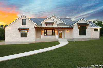 New Braunfels Single Family Home For Sale: 267 Winding View