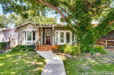 San Antonio Single Family Home New: 233 Lindell Pl