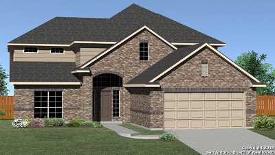 Bexar County Single Family Home New: 12707 Canadian River