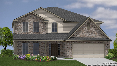 Bexar County Single Family Home New: 5846 Sweetwater Way