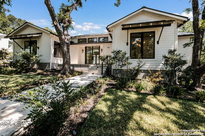 Alamo Heights Single Family Home Price Change: 333 Rosemary Ave