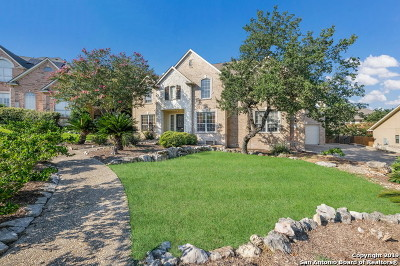 Stone Oak Single Family Home New: 18106 Marble Spring