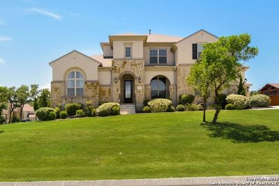 Helotes Single Family Home Price Change: 13403 Pecan Stable
