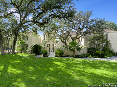 Bexar County Single Family Home New: 9530 Majestic Oak Circle