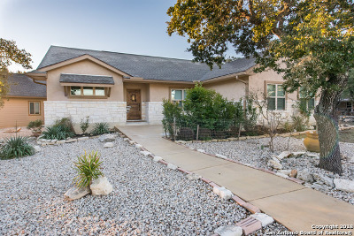 Canyon Lake Single Family Home Active Option: 541 Lasso Loop