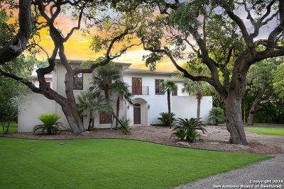 Boerne Single Family Home For Sale: 8715 Fox Briar Ln