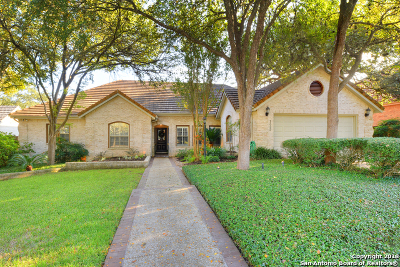 Stone Oak Single Family Home New: 1322 Twilight Ridge