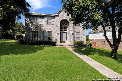 Stone Oak Single Family Home New: 24846 Twin Arrows