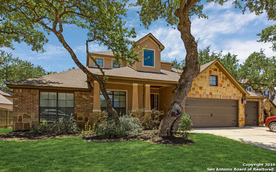 Boerne Single Family Home New: 28015 Carmel Valley