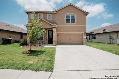 Converse Single Family Home New: 9850 Red Iron Creek