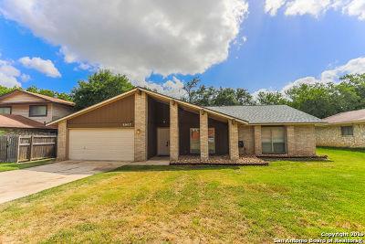 San Antonio Single Family Home New: 8907 Waterside