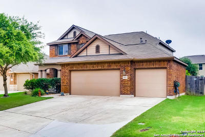 Bexar County Single Family Home New: 8535 Fess Parker Dr
