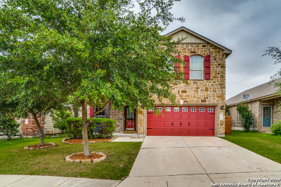 Cibolo Single Family Home Active Option: 516 Slippery Rock