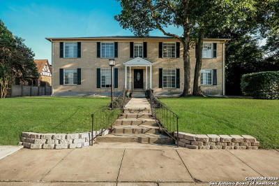 Alamo Heights Multi Family Home Back on Market: 152 Terrell Rd