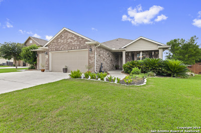 New Braunfels Single Family Home Back on Market: 2449 Ibis Ave