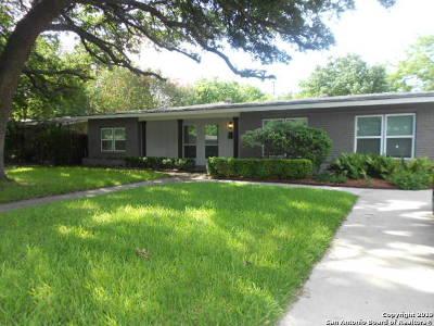Bexar County Single Family Home New: 327 Ridgehaven Pl