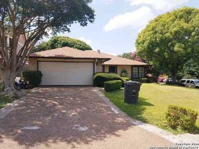 San Antonio Single Family Home New: 7507 Kentisbury Dr