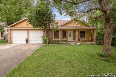San Antonio Single Family Home Price Change: 7418 Pebblewood