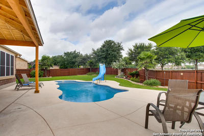 Cibolo Single Family Home Active Option: 830 Stadler Cove