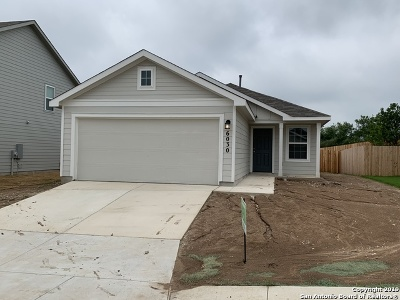 San Antonio Single Family Home New: 6030 Tina Park