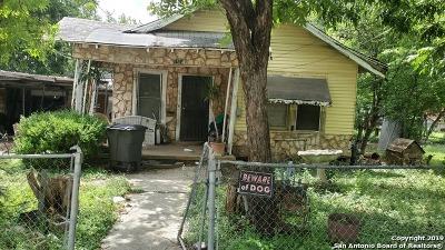 San Antonio Single Family Home New: 1514 Sabinas St