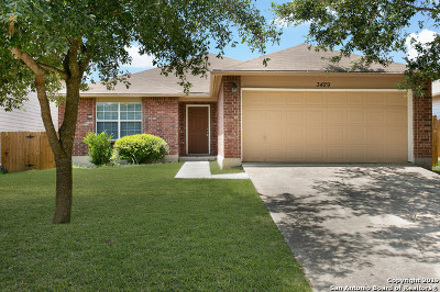 Cibolo Single Family Home Price Change: 3429 Whisper Haven