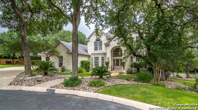 Bexar County Single Family Home New: 8523 Fairway Bend Dr